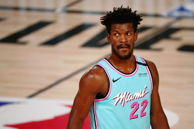 Jimmy Butler is a leader for the Miami Heat.