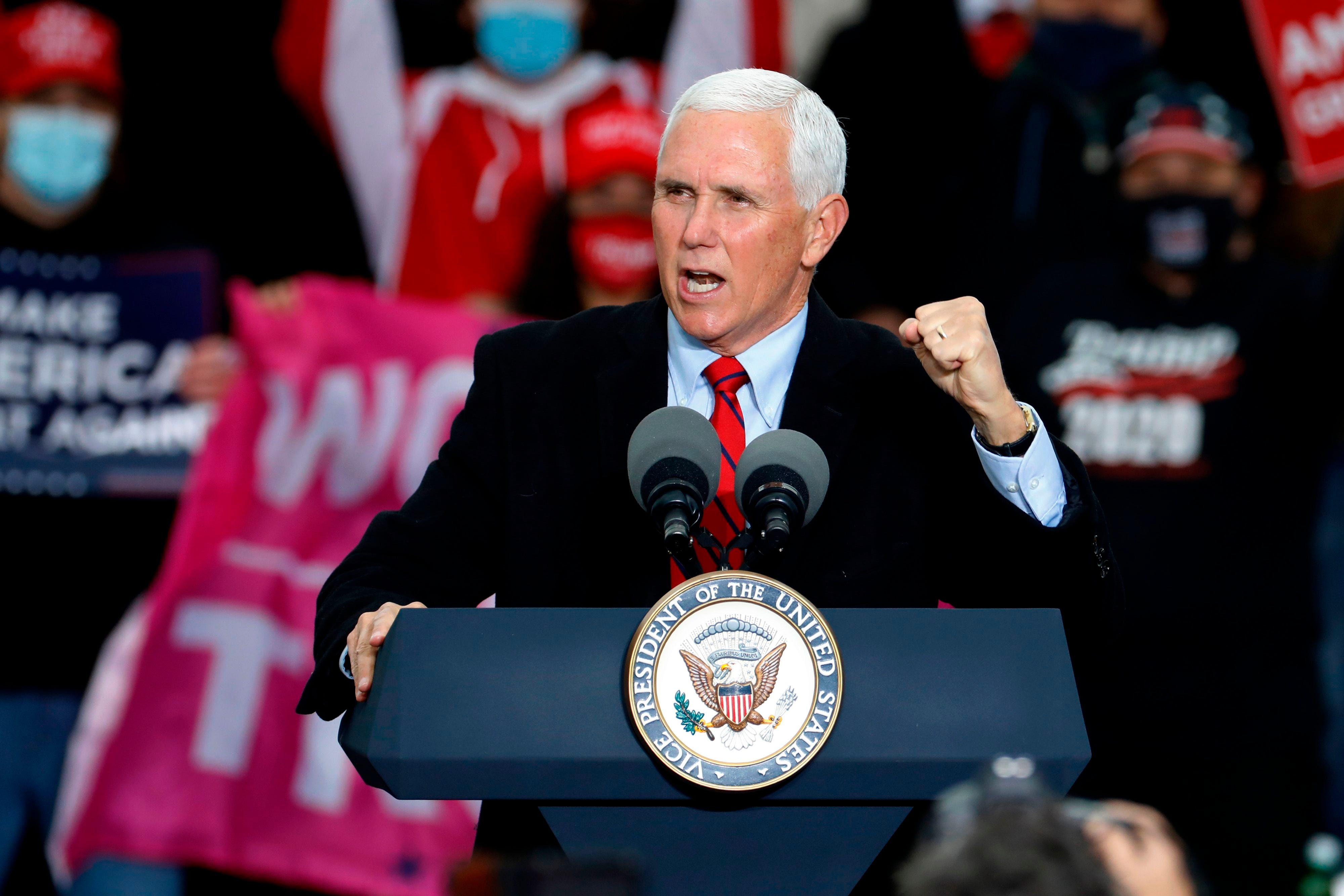 Pence will likely not attend Amy Coney Barrett confirmation on Monday night