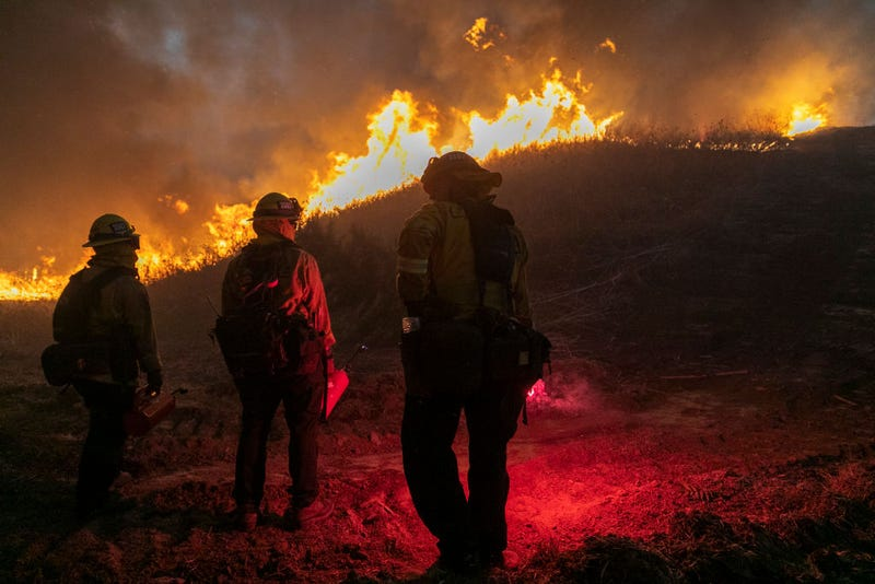 Supply chain shortages aren't just affecting consumers. They're also affecting how quickly firefighters can respond to wildfires in California.