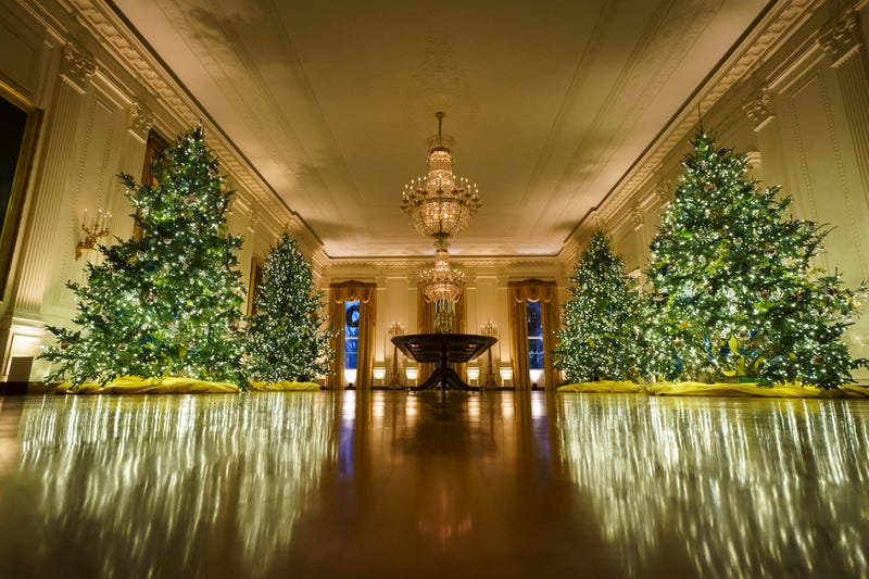 2020 White House Christmas decorations