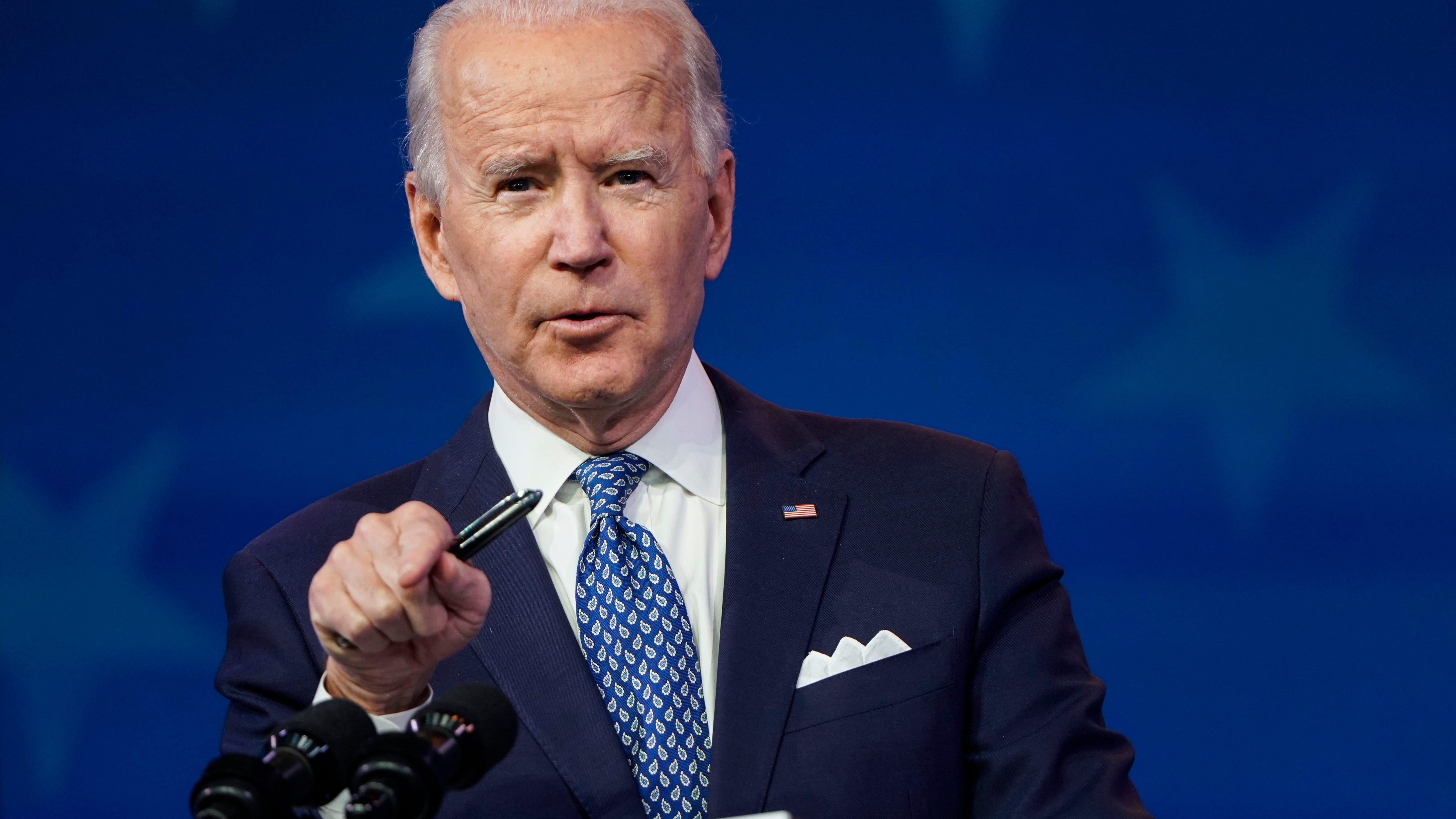 Joe Biden to wear custom-made Ralph Lauren suit to inauguration: Report