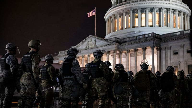 General details hourslong delay in getting Guard to Capitol