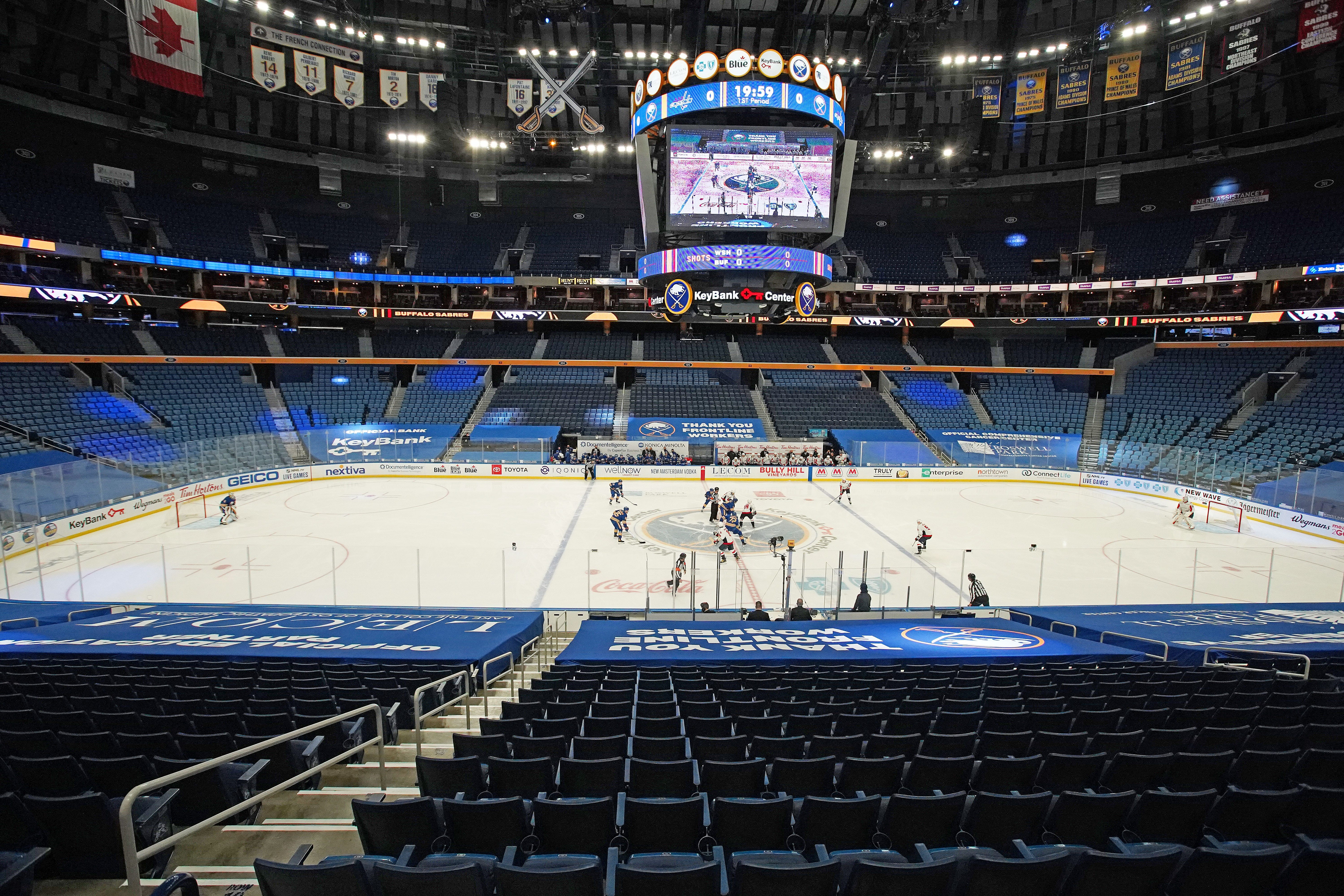 NHL reschedules a pair of Sabres games against Pittsburgh - WBEN