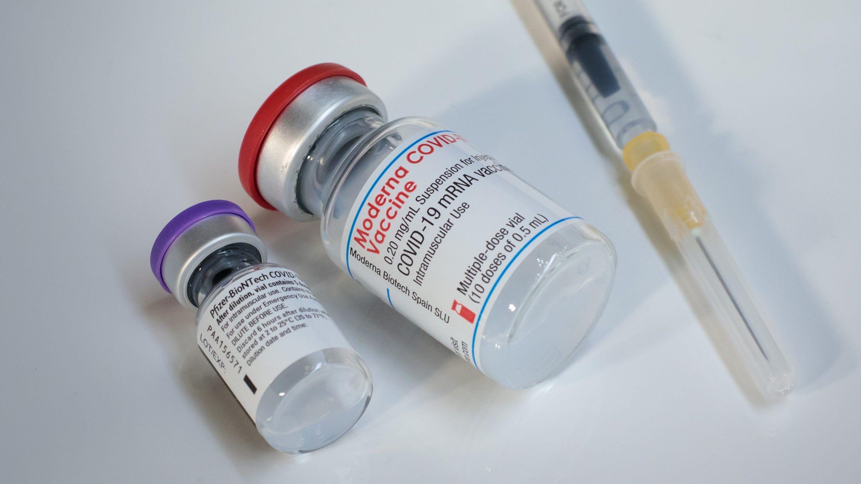 Moderna vaccine generates twice as many antibodies as Pfizer: study