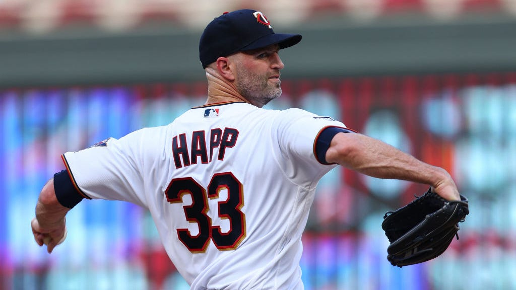 Cardinals acquire pitcher J.A. Happ in trade with Twins