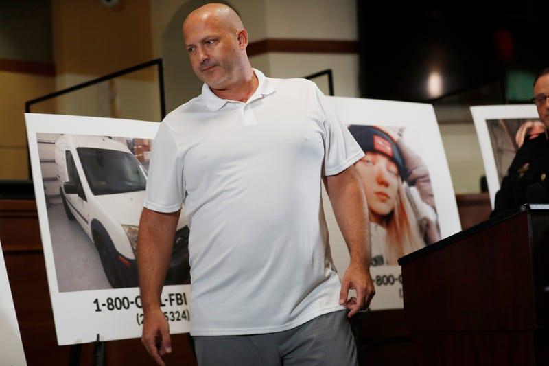 Joe Petito at a Sept. 16 press conference in North Port, Florida