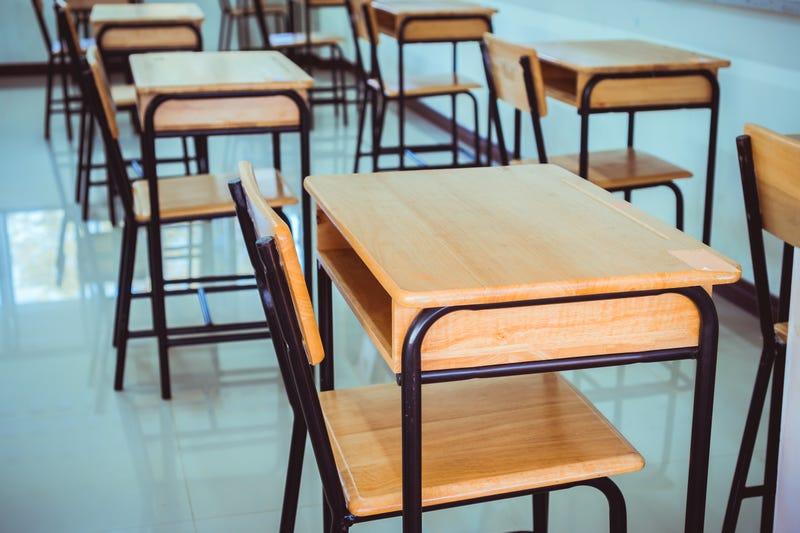 School room desks