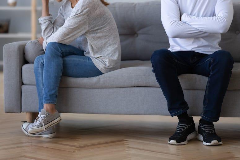 Couple, Argument, Fight, Ignoring