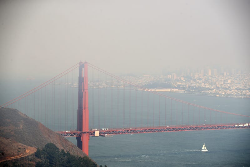 The Bay Area Air Quality Management District has issued a Spare the Air alert for Tuesday due to the buildup of smog in the Bay Area.