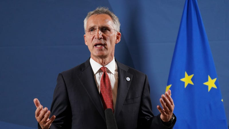 NATO chief dismisses early pullout of Afghan troop trainers