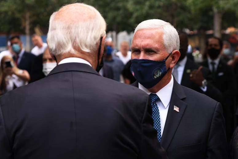Biden and Pence