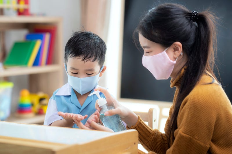 Kindergarten and covid precautions