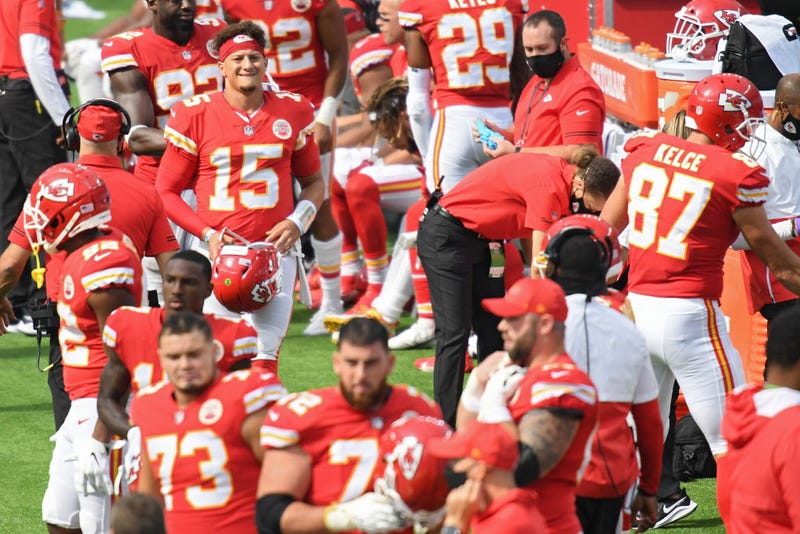 A strange Chiefs/Chargers game in week 2