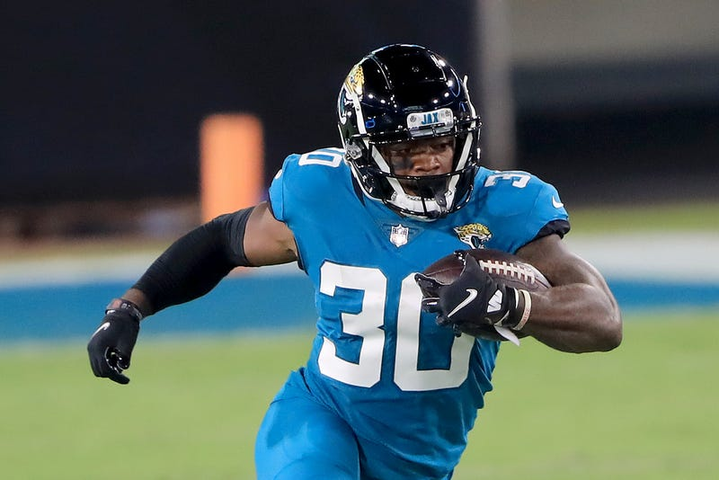 Jaguars rookie James Robinson gets to steppin'