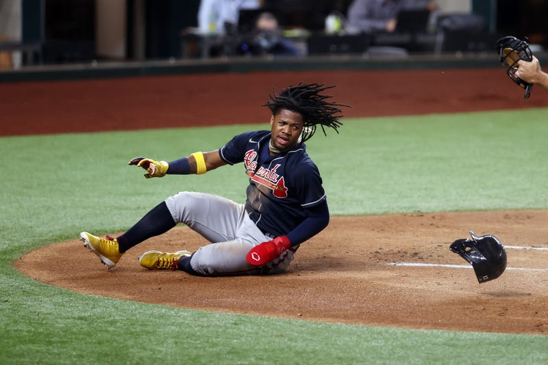 Braves outfielder Ronald Acuna