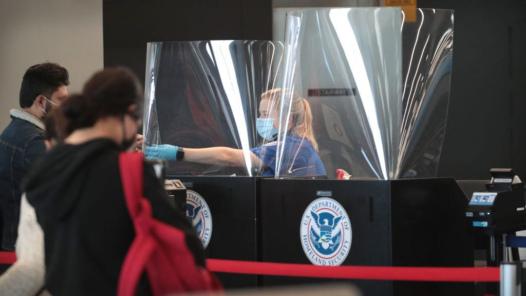Here are the 10 airports with the most TSA COVID cases