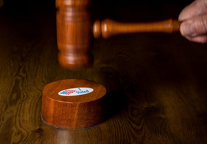 election lawsuit withdrawn