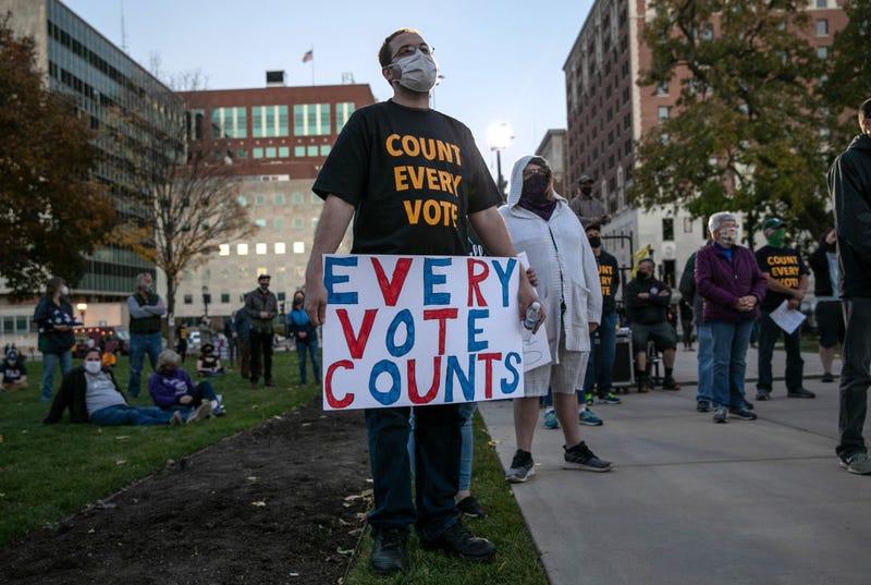 Michigan ballot count