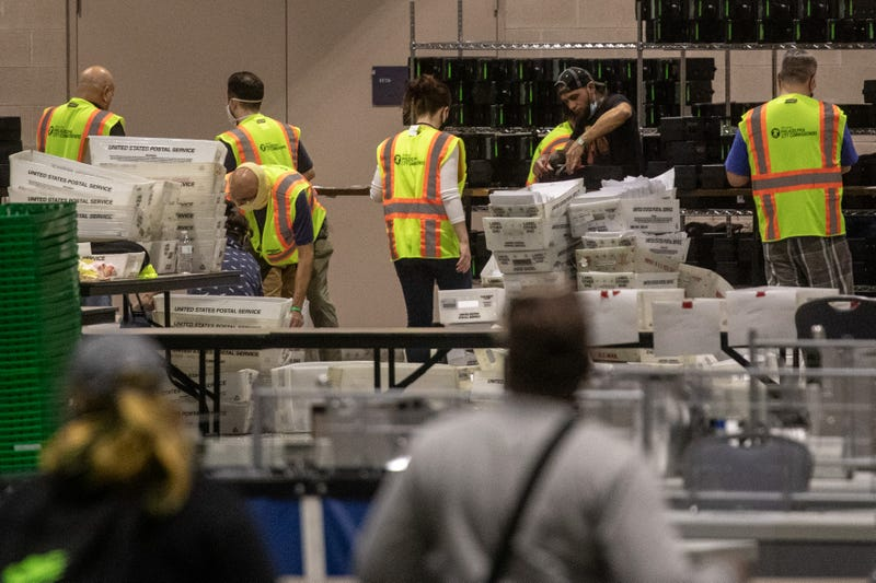 Ballot counting in Philadelphia