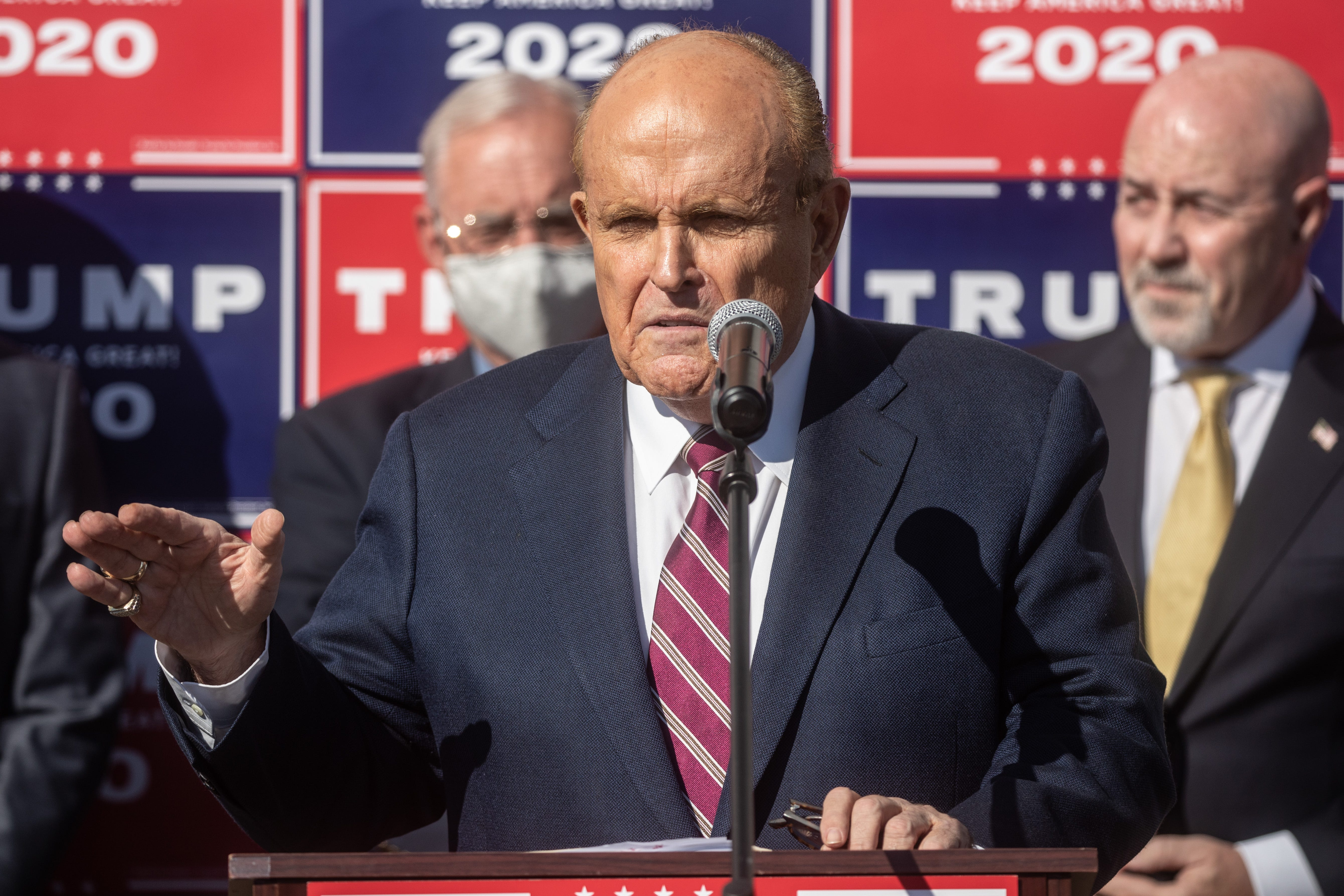 Feds execute search warrant at Rudy Giuliani's UES home