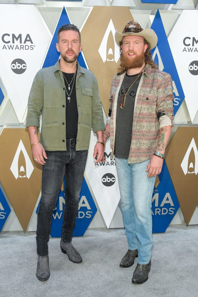 T.J. Osborne and John Osborne of Brothers Osborne