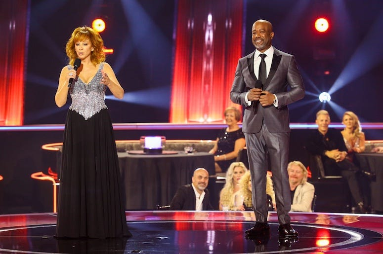 Reba McEntire and Darius Rucker host the 2020 CMA Awards