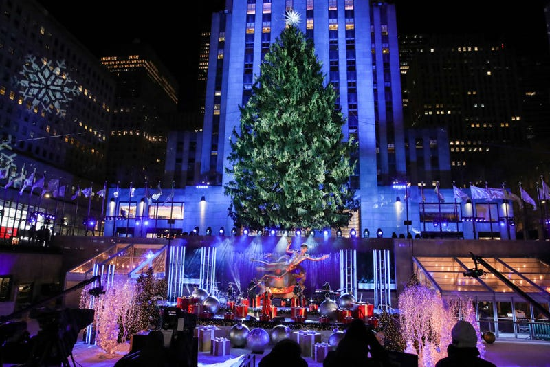 Rock Center Tree Lighting 2020