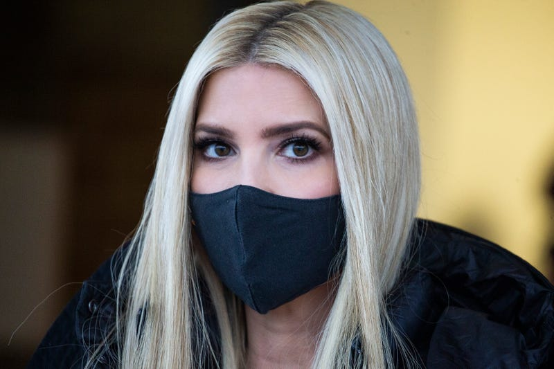 Ivanka Trump, U.S. President Donald Trump's daughter on December 14, 2020 in Woodbridge, Virginia.