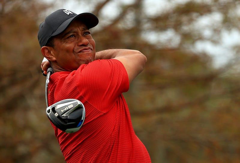 Golf legend Tiger Woods.