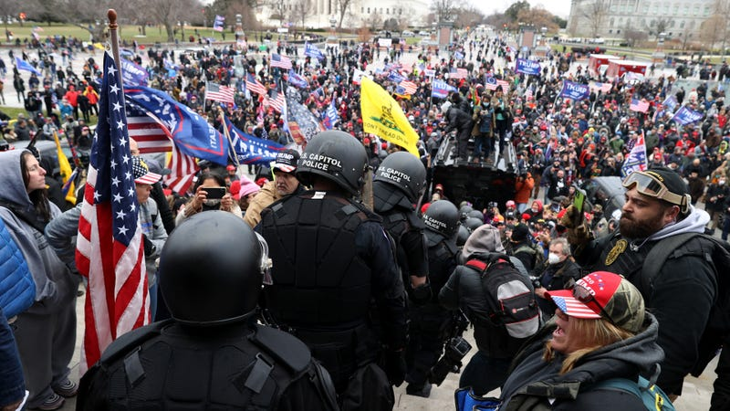 Army reservist with security clearance charged in connection with riot at U.S. Capitol.