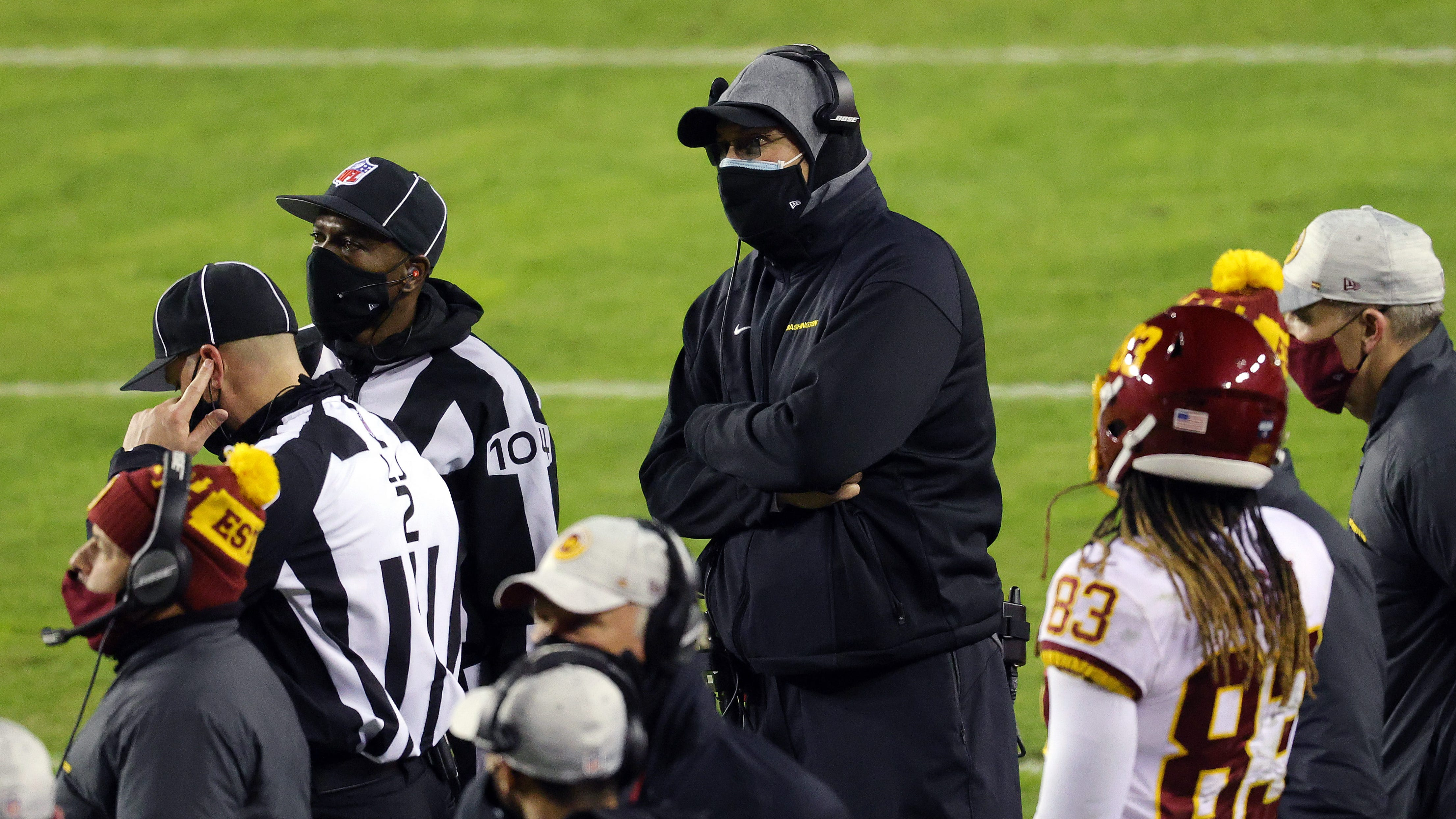 Ron Rivera 'beyond frustrated' by Washington Football Team's league-low vaccination rate