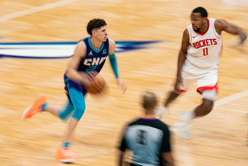 LaMelo Ball against the Rockets