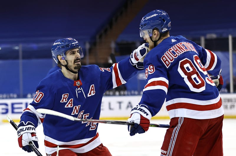 Chris Kreider and Pavel Buchnevich