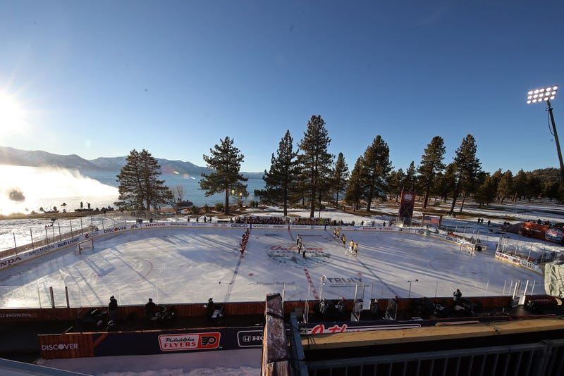 Bruins vs. Flyers at Lake Tahoe