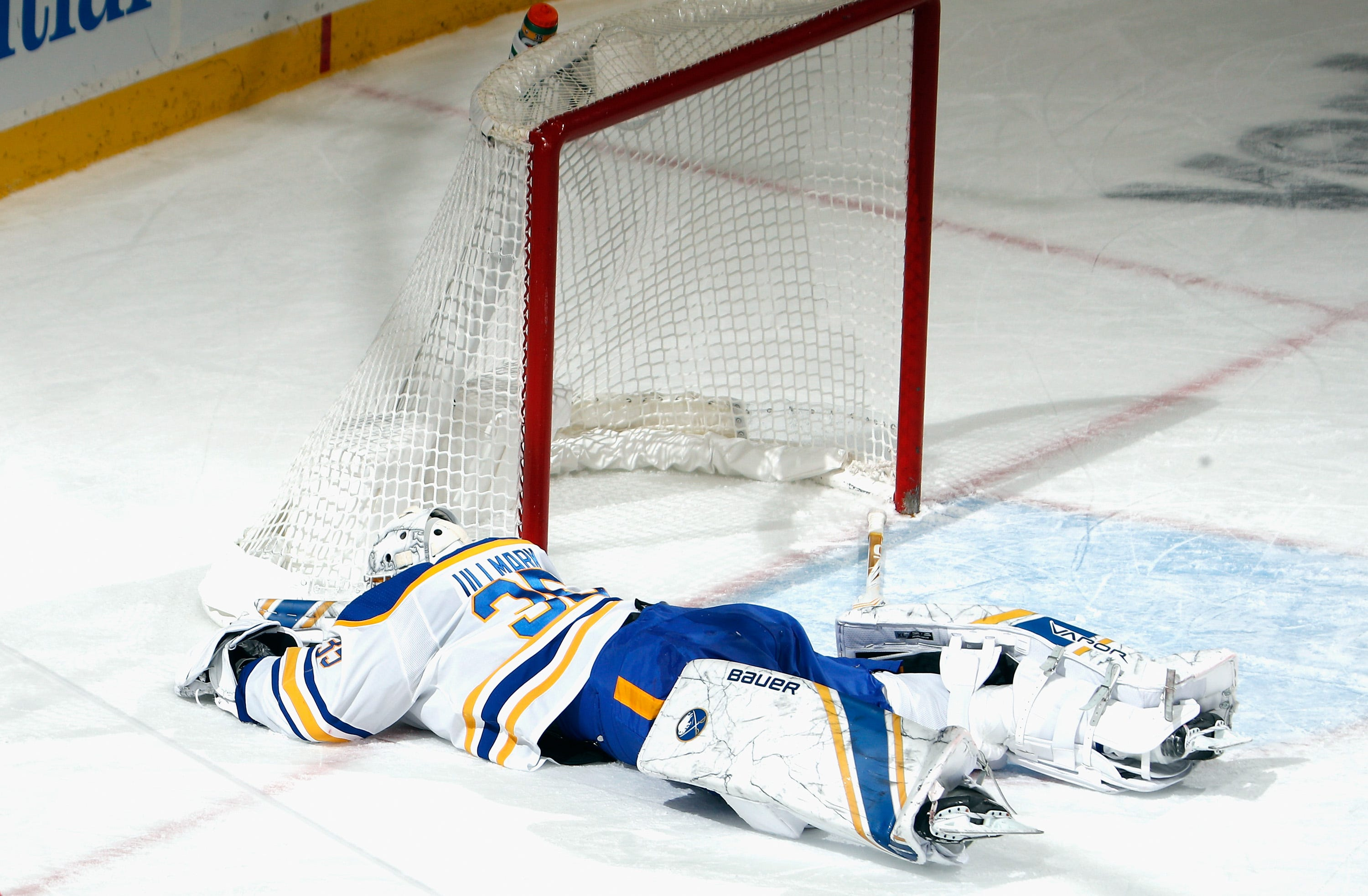 Sabres' Ullmark to miss a month; Eichel day to day