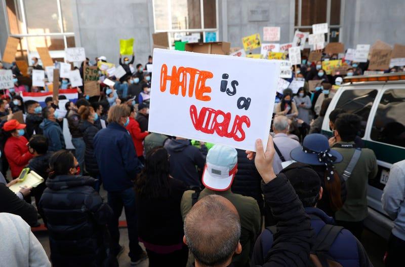 Asian solidarity rally