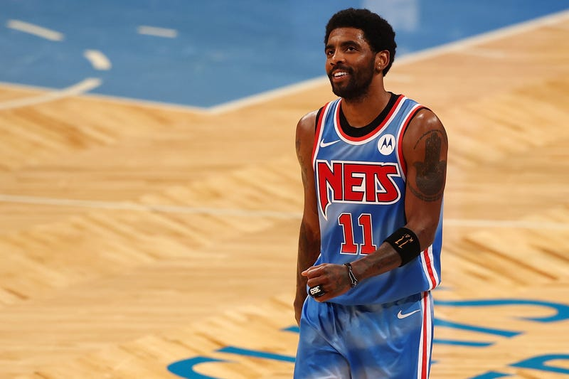 Nets star Kyrie Irving.