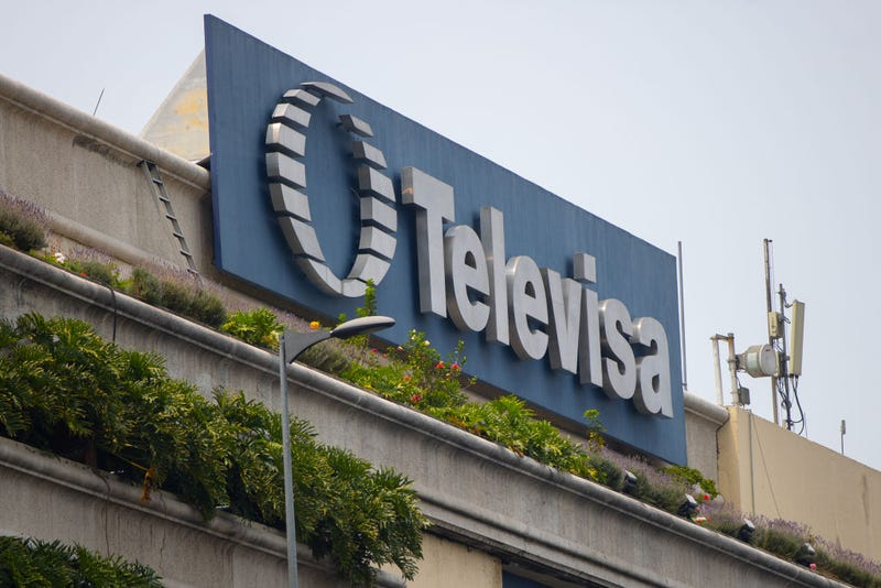 The Televisa building a day after the company announced plans to merge with Univision on April 14, 2021 in Mexico City, Mexico.