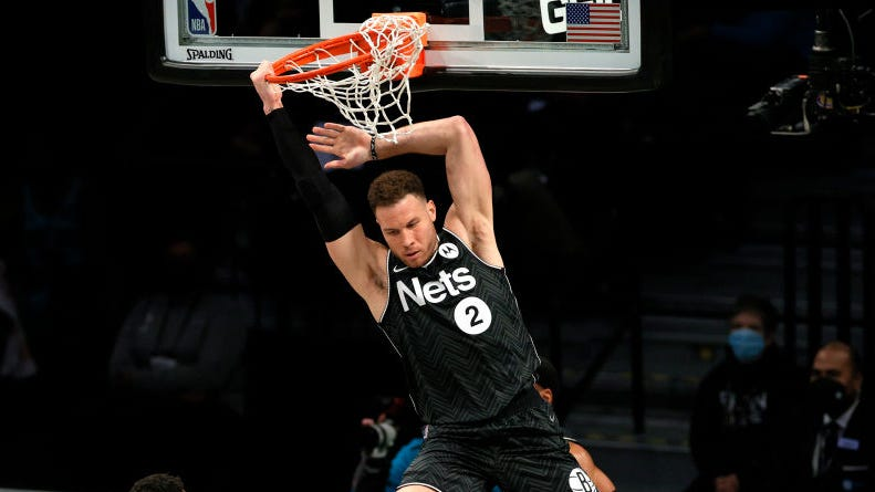 Fans mock Pistons after Blake Griffin's majestic dunks for Nets