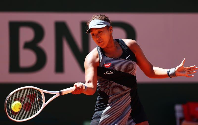 WTA star Naomi Osaka during the French Open.