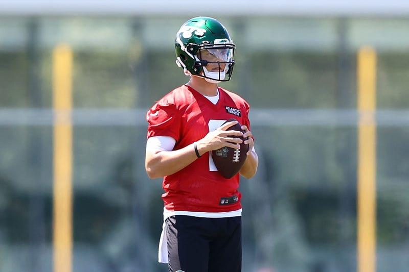 Jets quarterback Zach Wilson.
