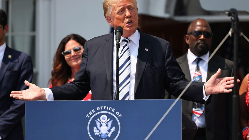 Trump to sue Facebook, Twitter and Google alleging 'unlawful censorship'
