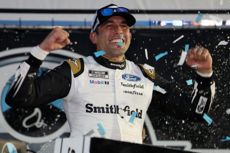 NASCAR veteran Aric Almirola.