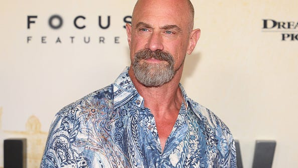 Christopher Meloni, 60, puts his muscled physique on full display for Men's Health cover