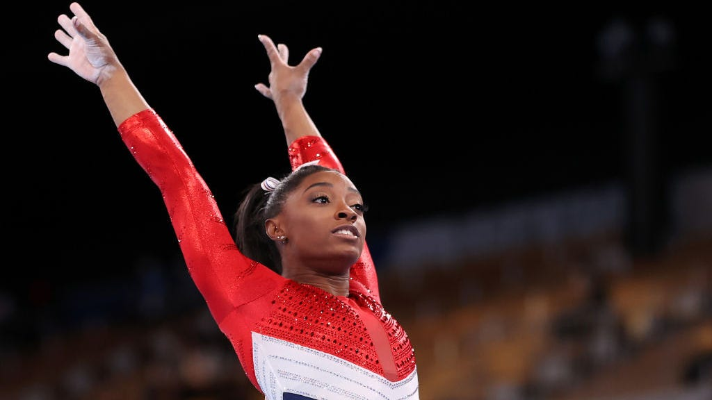 Simone Biles explains reasoning behind her withdrawal from Olympic team final