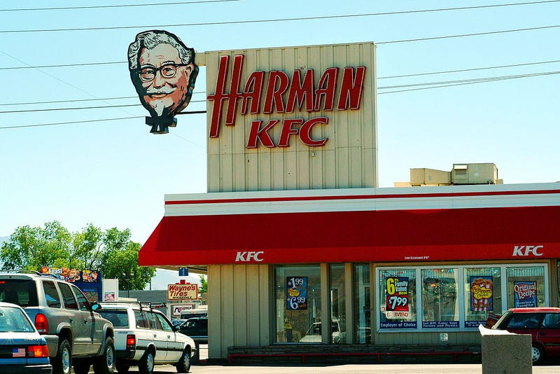 harman kfc first kentucky fried chicken location in salt lake city utah