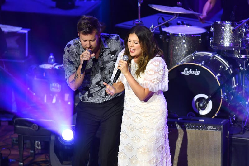 Charles Kelley and Hillary Scott of Lady A