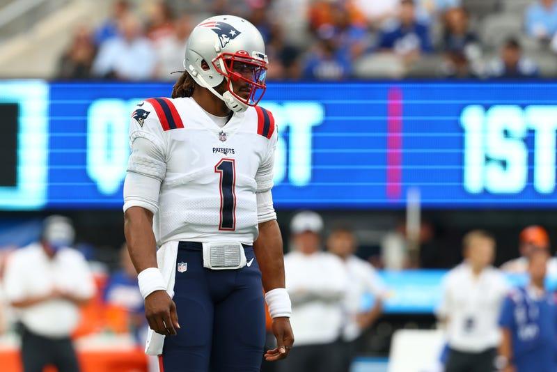 Former Patriots quarterback Cam Newton.