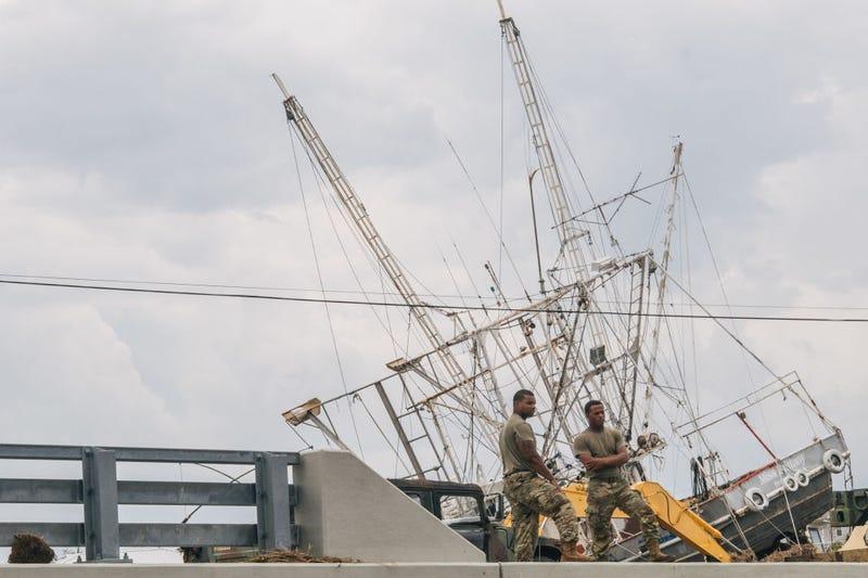 Lafitte after Hurricane Ida