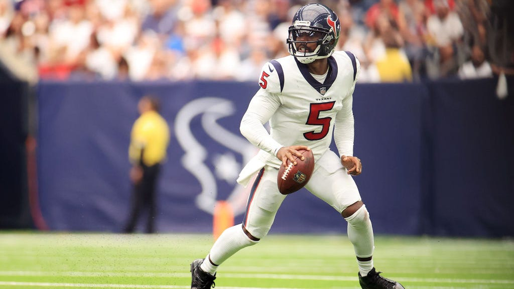 Texans head coach David Culley: Tyrod Taylor is our starting quarterback